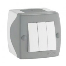 Elektrik açarı N3, divar üstü, model: Octans, Mono Electric- Türkiyə