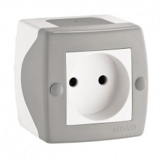Elektrik yuvası N1, divar üstü, model: Octans, Mono Electric- Türkiyə