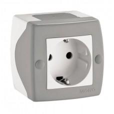 Elektrik yuvası N1, dərin-torpaqlamalı, divar üstü, model: Octans, Mono Electric- Türkiyə